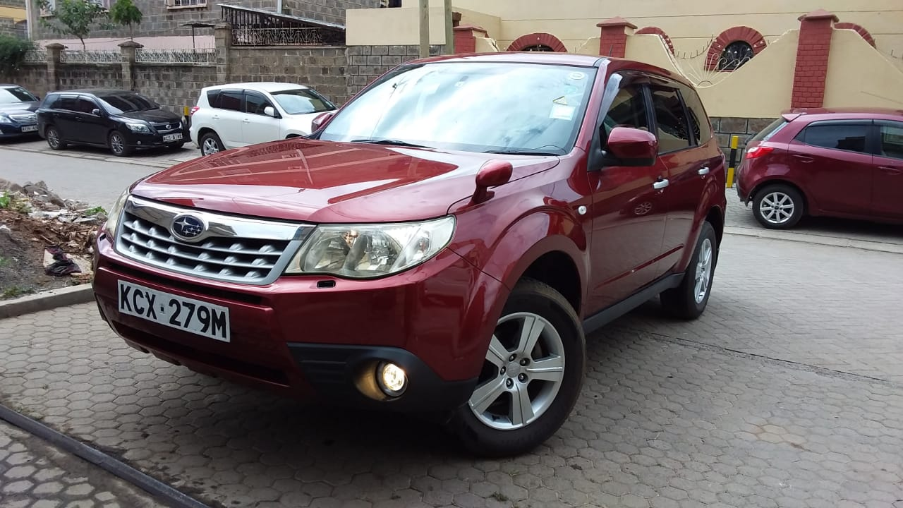 Used Abroad 2012 Subaru Forester