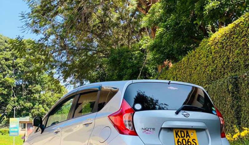 2013 Used Abroad Automatic Nissan Note full