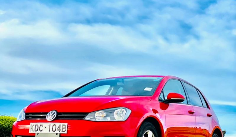 2014 Used Locally Automatic Volkswagen Golf full
